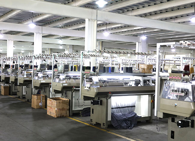 High-speed knitting machine production process operation rules and production quality control tips